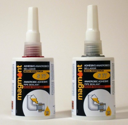 S77 Anaerobic Sealant Medium Resistance Yellow Accordion bottle 75ml