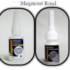 MAGMONT BOND: Hardener and cyanoacrylate which together repair and bond almost any type of material.